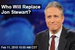 Who Will Replace Jon Stewart?