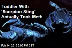 Toddler With 'Scorpion Sting' Actually Took Meth