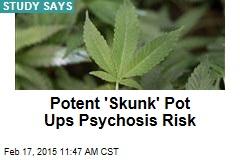Potent 'Skunk' Pot Ups Psychosis Risk