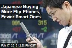 Japanese Buying More Flip-Phones, Fewer Smart Ones