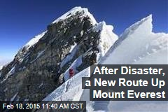 After Disaster, a New Route Up Mount Everest