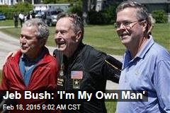 Jeb Bush: 'I'm My Own Man'