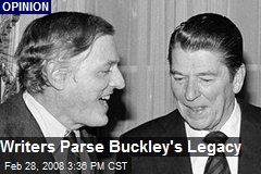 Writers Parse Buckley's Legacy
