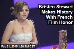 Kristen Stewart Makes History With French Film Honor
