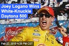 Joey Logano Wins White-Knuckle Daytona 500