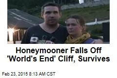 Honeymooner Falls Off 'World's End' Cliff, Survives