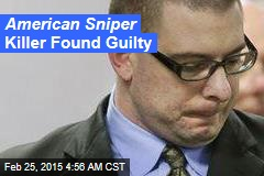Routh Guilty of American Sniper Murder