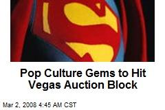 Pop Culture Gems to Hit Vegas Auction Block