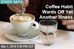 Lots of Coffee Daily Lowers Chance of MS