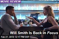 Will Smith Is Back in Focus