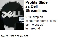 Profits Slide as Dell Streamlines