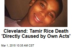Cleveland: Tamir Rice Death 'Directly Caused by Own Acts'