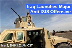 Iraq Launches Major Anti-ISIS Offensive