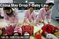 China May Drop 1-Baby Law