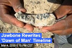 Jawbone Rewrites 'Dawn of Man' Timeline