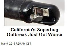 California's Superbug Outbreak Just Got Worse
