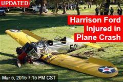 Harrison Ford Injured in Plane Crash
