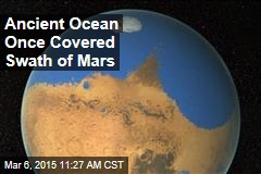 Ancient Ocean Once Covered Swath of Mars