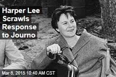 Harper Lee Scrawls Response to Journo