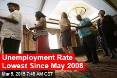 Unemployment Rate Drops to 5.5%