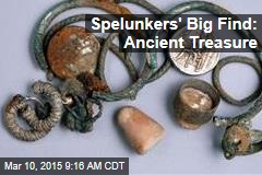 Spelunkers Unearth Millennia-Old Treasure