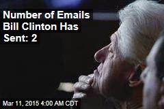 Bill Clinton 'Doesn't Use Email'