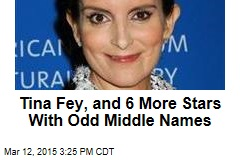Tina Fey, and 6 More Stars With Odd Middle Names