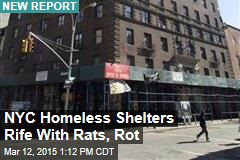 NYC Homeless Shelters Rife With Rats, Rot