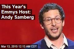 This Year's Emmys Host: Andy Samberg
