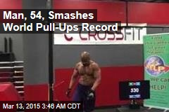 Man, 54, Smashes World Pull-Ups Record