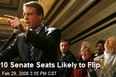 10 Senate Seats Likely to Flip