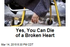 Yes, Broken Hearts Do Kill People