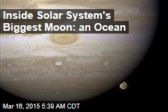 Vast Ocean Detected Inside Jupiter Moon