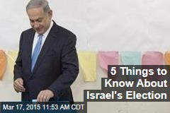 5 Things to Know About Israel's Election