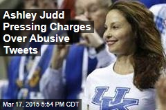Ashley Judd Pressing Charges Over Abusive Tweets
