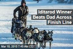 Iditarod Winner Beats Dad Across Finish Line
