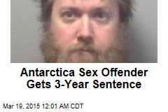 Antarctica Sex Offender Gets 3-Year Sentence