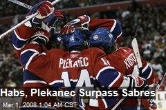 Habs, Plekanec Surpass Sabres