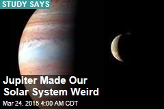 Jupiter Made Our Solar System Weird