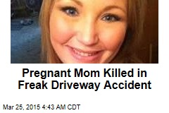 Pregnant Mom Crushed by Gravel Truck
