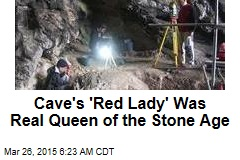 Cave's 'Red Lady' Was a Real Queen of the Stone Age