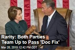 Rarity: Both Parties Team Up to Pass 'Doc Fix'