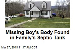 Missing Boy's Body Found in Family's Septic Tank