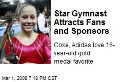 Star Gymnast Attracts Fans and Sponsors