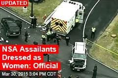 1 Dead, 1 Injured as Vehicle Tries to Ram NSA Gate