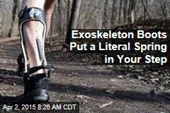 Exoskeleton Boots Put a Literal Spring in Your Step