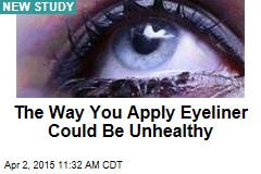 The Way You Apply Eyeliner Could Be Unhealthy