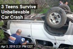 3 Teens Survive Unbelievable Car Crash