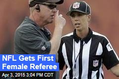 NFL Gets First Female Referee