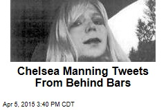 Chelsea Manning Tweets From Behind Bars